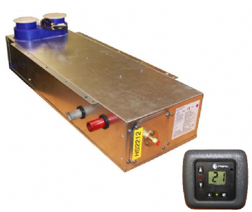 Propex Heatsource HS2212 V3 Underfloor Mounted Gas / Electric Blown Air Heater with Digital Control